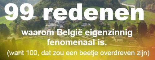 België is eigenzinnig fenomenaal